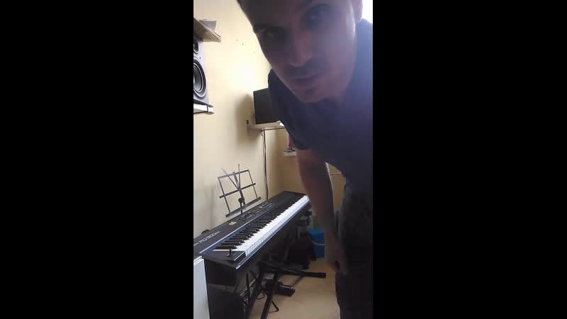 Свободная импровизация - Blue bossa, blues (поиск новых фраз)