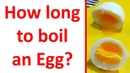 How long does it take to boil eggs? How to cook Hard-boiled eggs and Soft-boiled eggs?