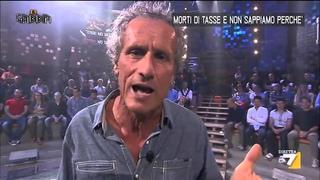 """La Gabbia - Barnard: """"morti di tasse e non sappiamo perchè"""" (25/06/2014)"""