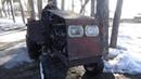 Едем трактор выручать ,на Газ 63