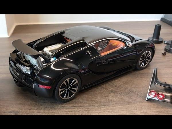 [Unboxing] 118 AUTOart Bugatti Veyron 16.4 Sang Noir