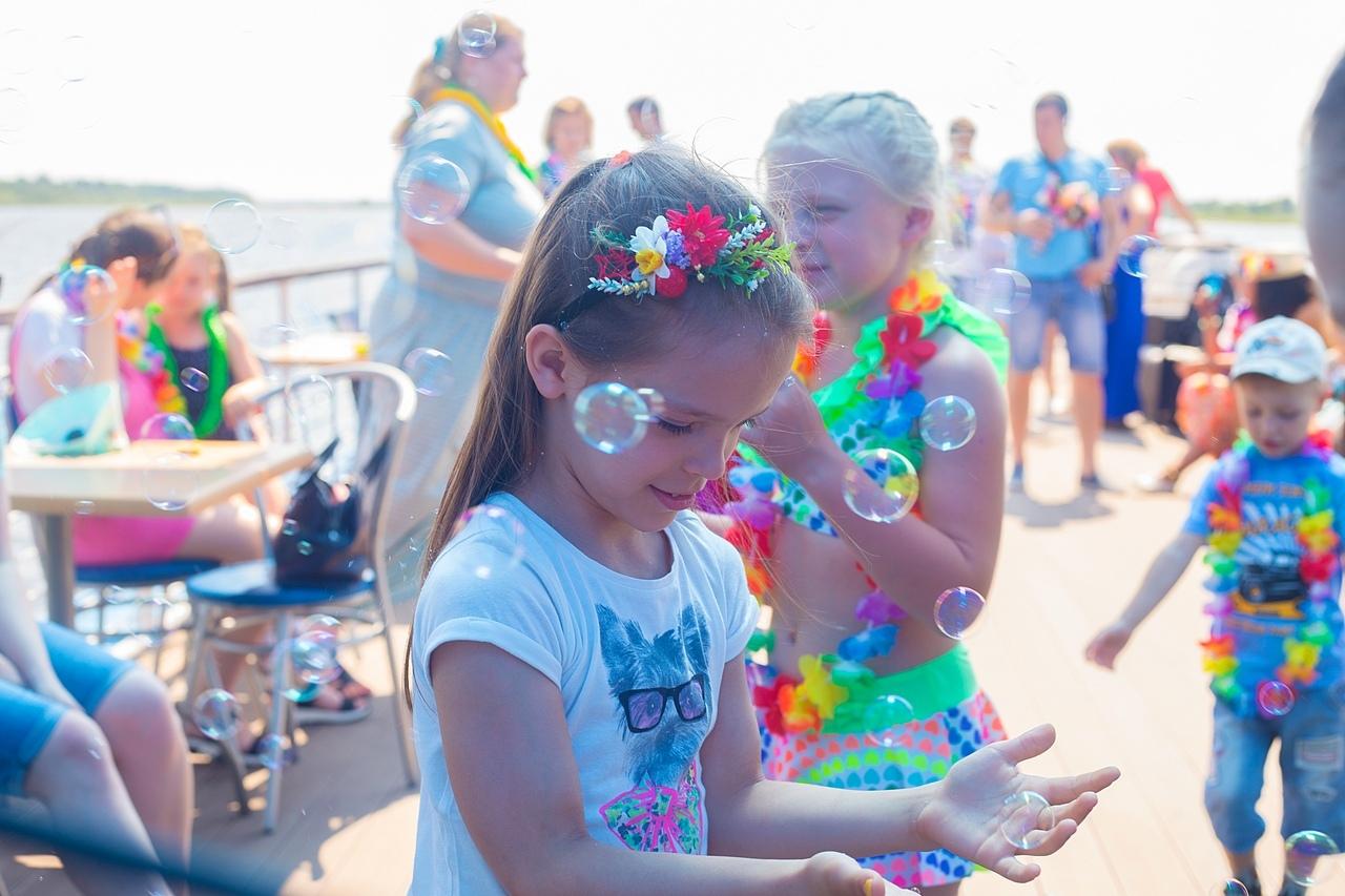 Афиша Нижний Новгород Детская Гавайская Вечеринка на теплоходе