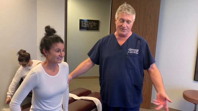 OMG 20 Years Of Pain Suffering 1st Chiropractic Adjustment-OMG