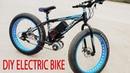 DIY Electric Bike 40km h Using 350W Reducer Brushless Motor