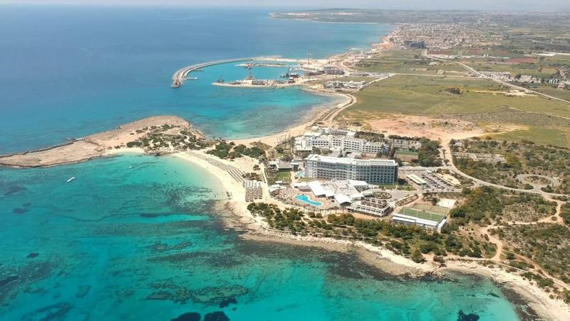Ayia Napa Cyprus Lanta beach april 2019 DJI Spark