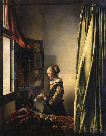Накартину Вермеера вернётся купидон Реставраторы Дрезденской картинной галереи удалят слой ретуши скартины Девушка, читающая письмо уоткрытого окна.В 16571659 годах нидерландский художник