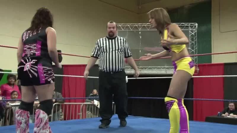 Ariel vs. Mercedes KV (aka Sasha Banks) (19.02.2011)