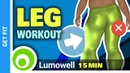 Leg Workout With Dumbbells - Exercises At Home For Tonic Legs