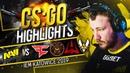CSGO Highlights: NAVI vs FaZe, ENCE, AVANGAR, Vitality @ IEM Katowice 2019