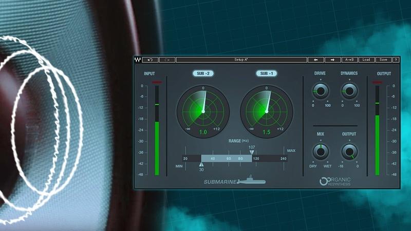 Waves Submarine Plugin Demo Audio Samples