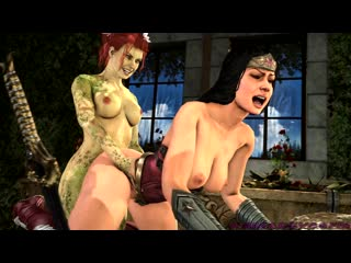 Poison ivy futa -music included 60 fps (dc sex)