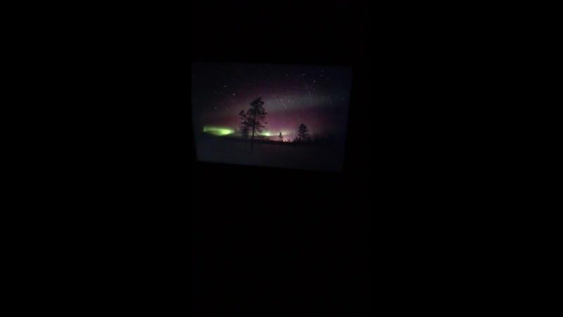 Сьемки Северного сияния. Nothern lights hunting