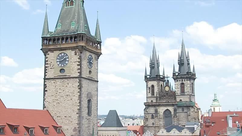 Ассаи в Праге Бродилки по городу концерт Май 2012