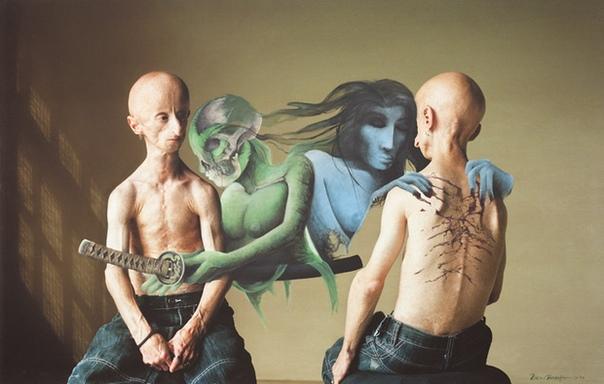 Леон Бота. Жить полной жизнью... Редкая генетическая болезнь не помешала ему создавать гениальные картины.Художник Леон Бота был не совсем обычный человек: он болел генетической болезнью