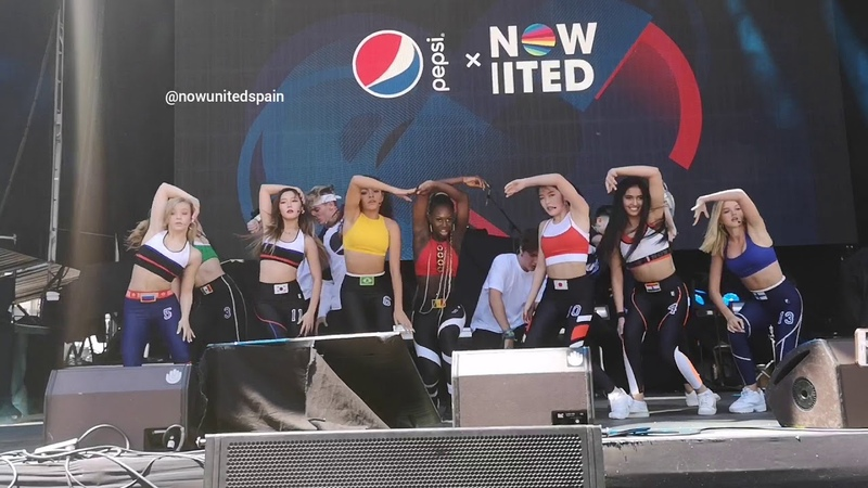Now United - For The Love Of It/Sundin Ang Puso (Live in Madrid)