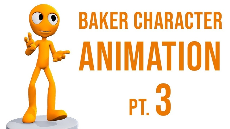 CGC Classic Baker Character Animation Pt. 3 - Action Editor (Blender 2.6)