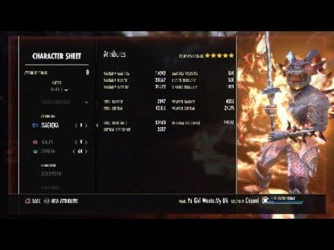 ESO Stamina Dragonknight PVP Build Werewolf Slayer Gameplay (WolfHunter)
