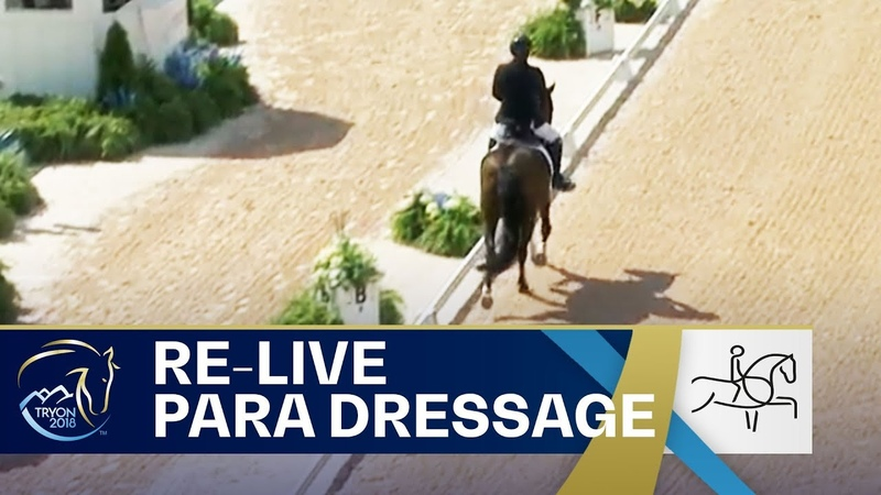 RE-LIVE Para-Dressage – Grade I, II, III Team | FEI World Equestrian Games 2018