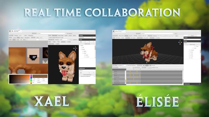 Hytale Model Maker - Real Time Collaboration