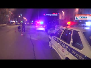 На Сулимова женщина - водитель на Fiat Doblo сбила пешехода