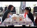 Heike Verheul NED You Zhang CHN Women's World Draughts Championship 2019