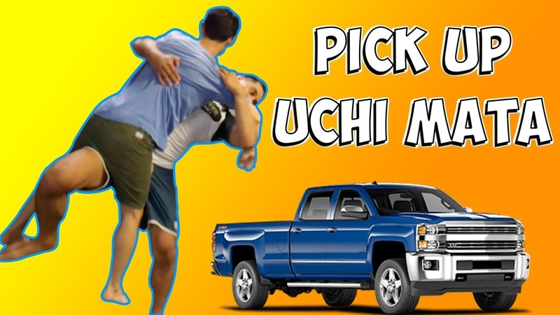 The Pick Up Uchi Mata Throw