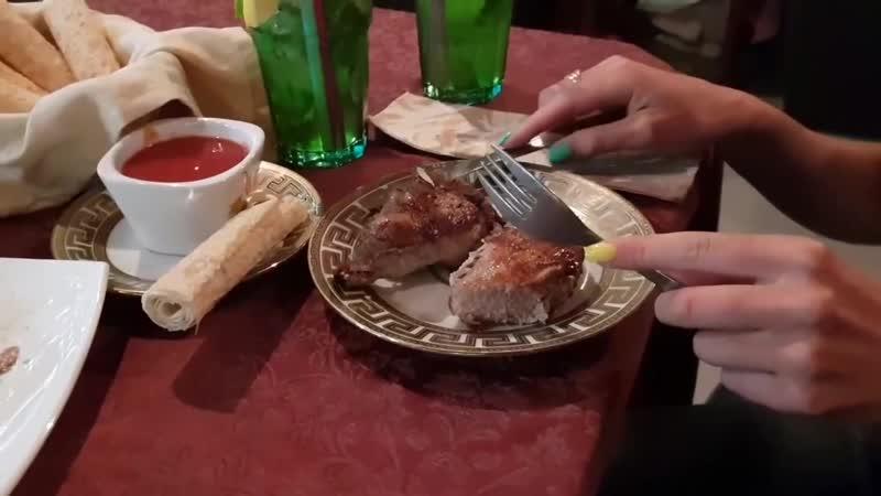 Шашлык в кафе ВАН ОБЗОР в Витязево на Паралия Анапа