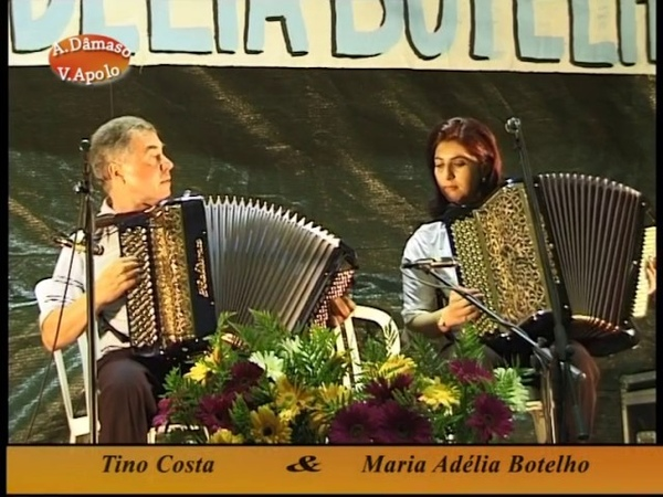 Acordeonistas Portugueses - Tino Costa e Maria Adélia Botelho