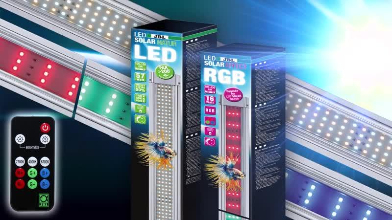 JBL LED SOLAR Aufbau und Lichtsteuerung