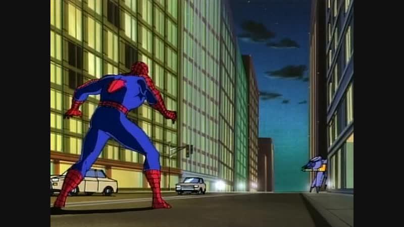 человек паук 1 сезон 3 серия возвращение охотников за пауком