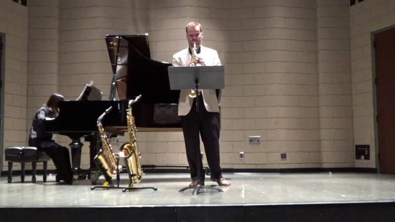 Molinelli: Four Pictures from New York, 1. Dreamy dawn, Bret Pimentel, saxophone