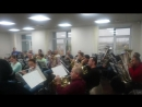 Громко репетирует оркестр Сургут Экспресс-бэнд, а мы тихо подсматриваем