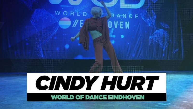 Cindy Hurt | FRONTROW | World of Dance Eindhoven Qualifier 2018 | WODEIN18 | Danceproject.info