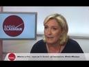 Marine Le Pen Macron Merkel unis et cette épave de Juncker qui dirige la commission 06 09