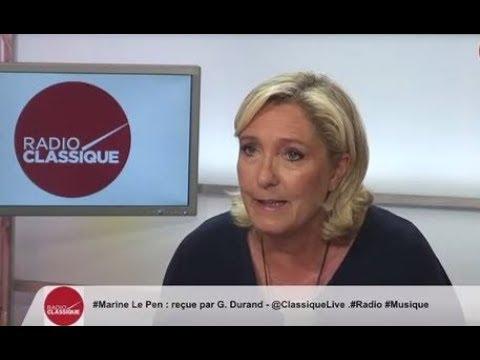 Marine Le Pen : Macron, Merkel unis et cette épave de Juncker qui dirige la commission 06/09