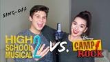 High School Musical 2 vs. Camp Rock SING-OFF