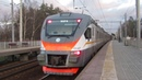 Электропоезд ЭП2Д-0047 ЦППК платформа Алабино 23.11.2018