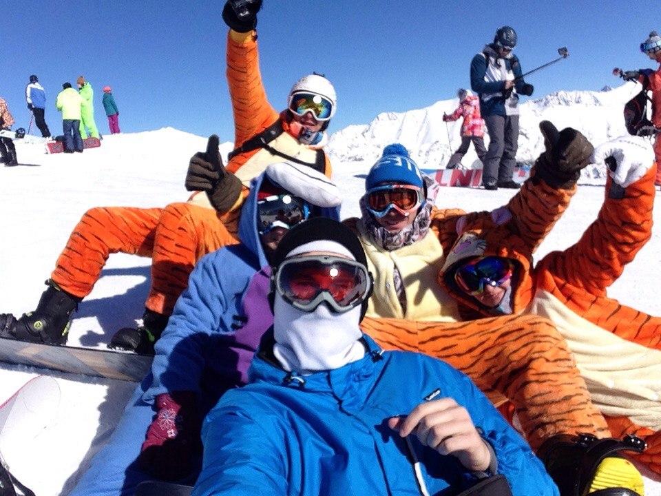 Афиша Краснодар 14-16 декабря: Домбай горнолыжный