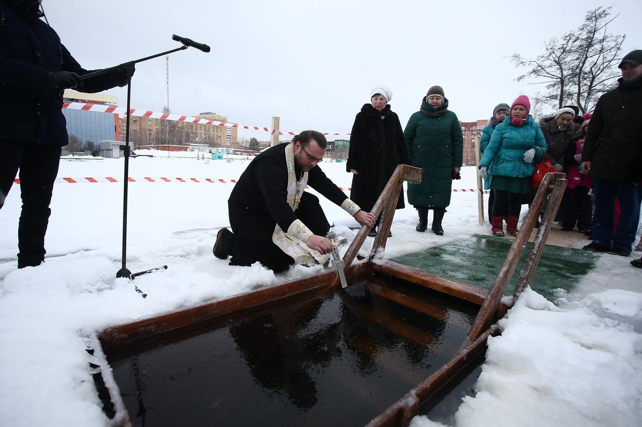 В Дубне определены оборудованные места для Крещенских купаний