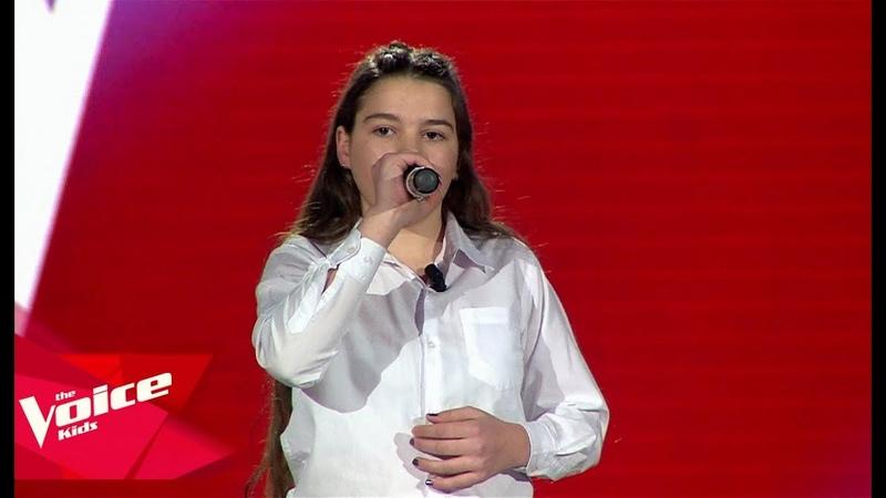 Alda - Fight Song | Audicionet e Fshehura | The Voice Kids Albania 2019