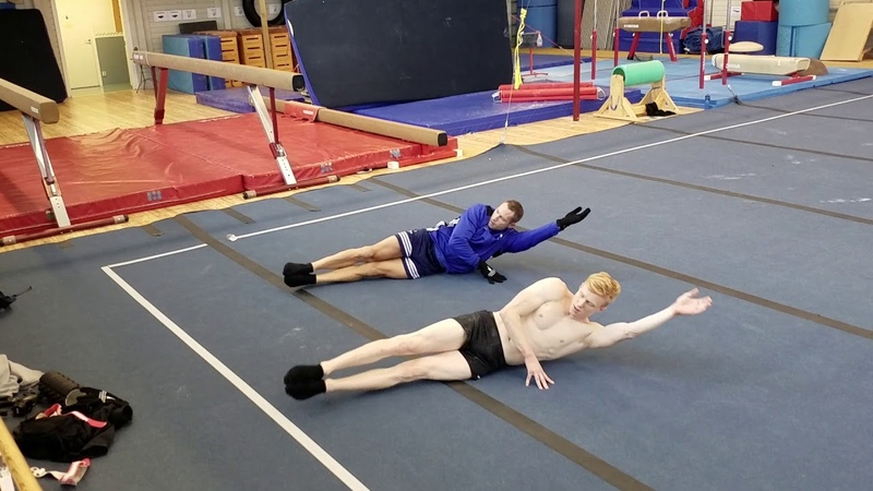 Gymnastics Core Warmup