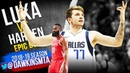 The Game Harden TRASH TALKED Luka Doncic Then Luka TOOK OVER in CLUTCH! | FreeDawkins