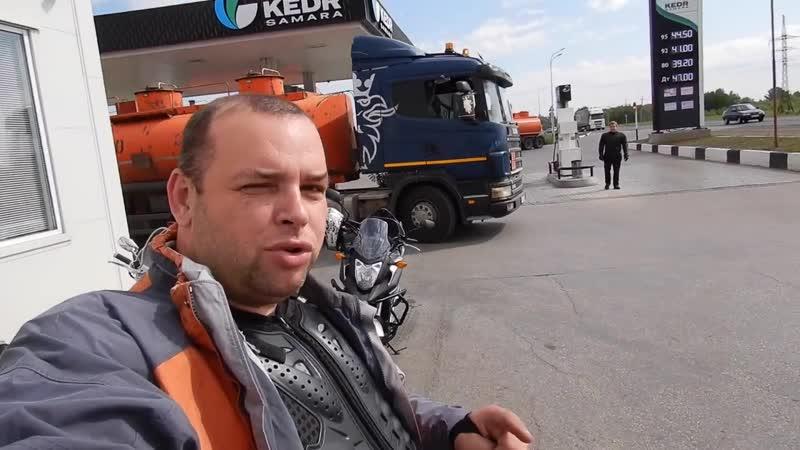На мотоциклах в Бузулук ДЖИПЫ рубятся в ГРЯЗИ