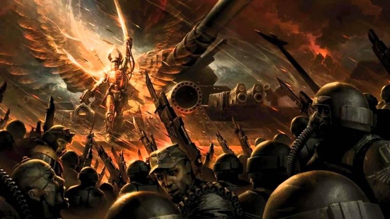 Warhammer 40000 Лорд Солар Махарий