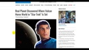 STAR TREKs Spocks Home planet has been discovered