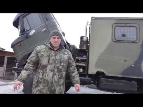 обзор машины газ 66 с дизельным мотором ИВЕКО overview of the machine with a diesel engine f GAS 66