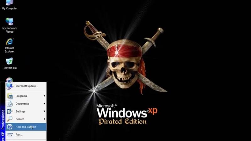 Windows XP Black Edition 2014.01.22