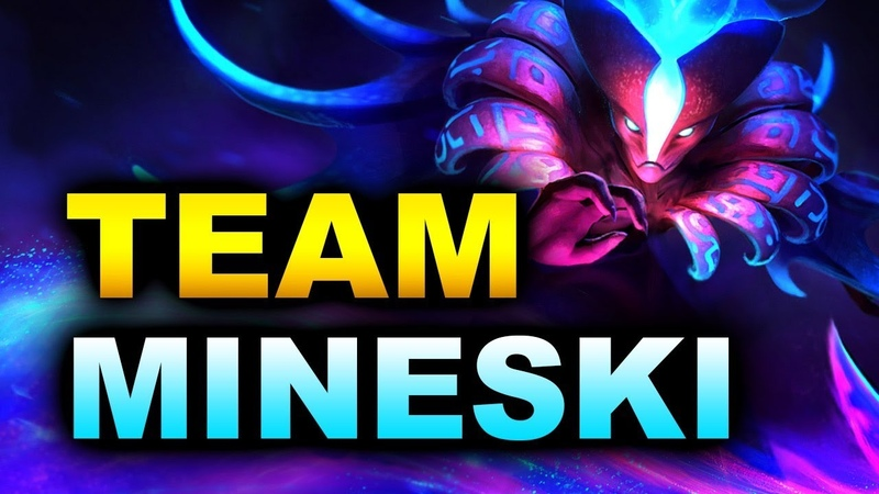 MINESKI vs TEAM TEAM - Winners Bracket - ESL ONE MUMBAI 2019 DOTA 2