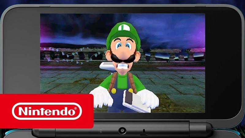 Luigis Mansion – Не очень страшный трейлер | Nintendo 3DS2DS.