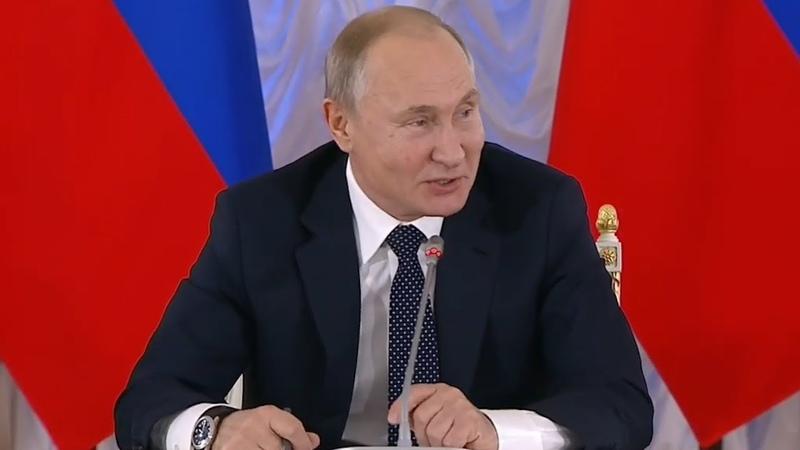 Путин ответил на жалобу о засилье рэпа в России: «Если невозможно остановить, то нужно возглавить!»